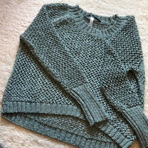 Kenzie Light Teal/Silver Sweater